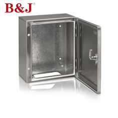 Dust Proof Custom Stainless Steel Electrical Junction Box Mudah Dibersihkan Dengan Zinc Alloy Lock